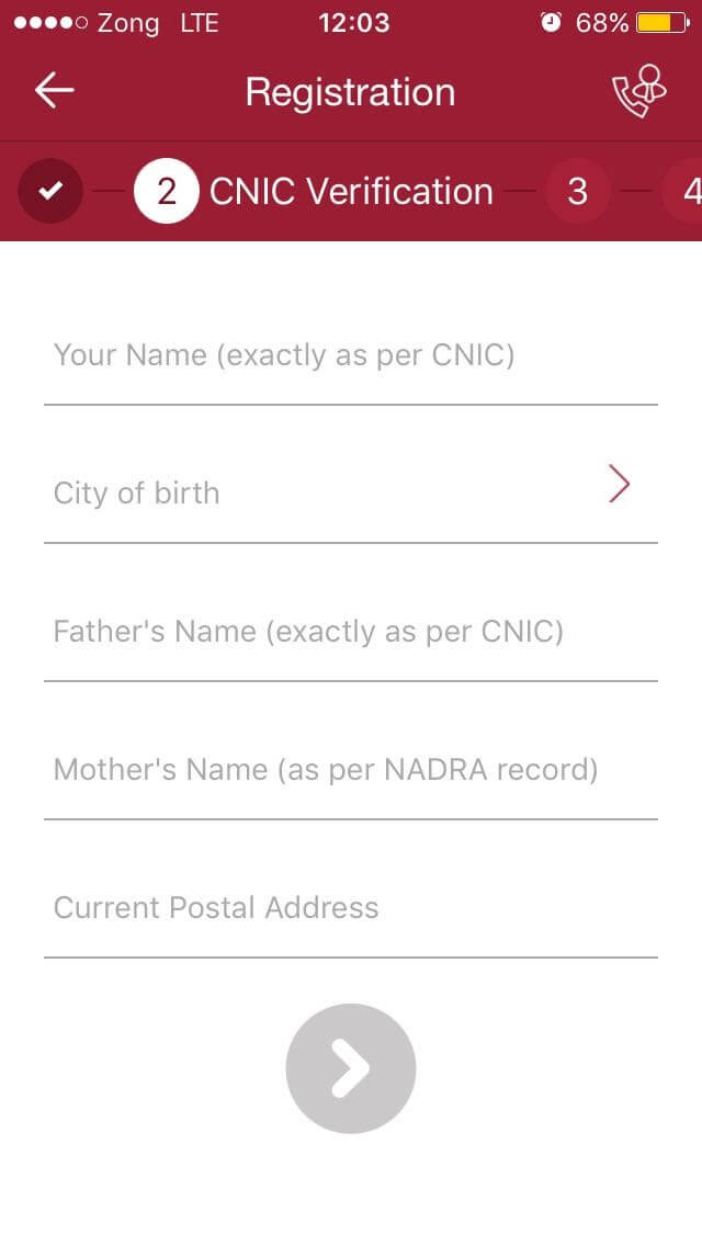 Nadra Cnic City Codes